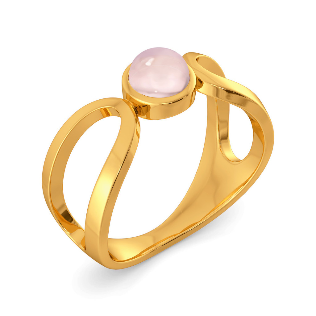 Dews of Pink Gemstone Rings
