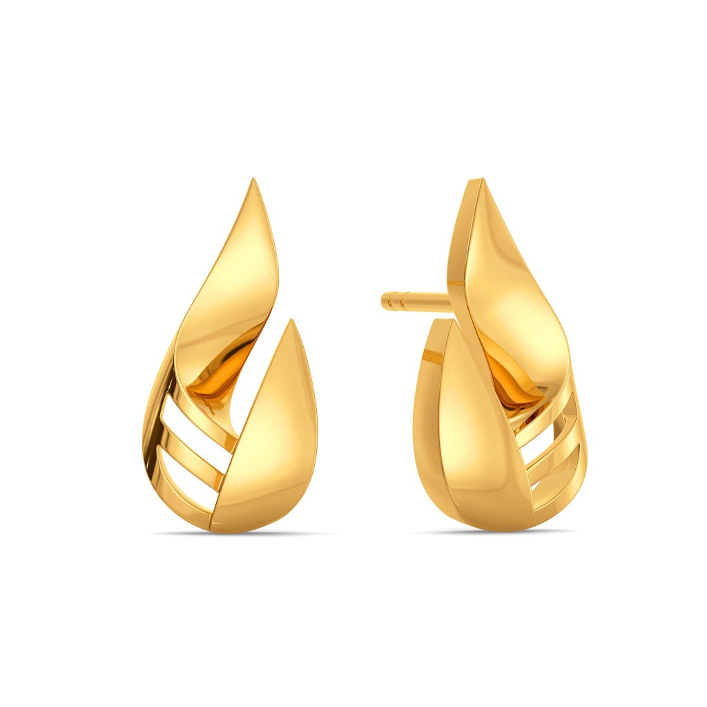 Drama Dreams Gold Earrings
