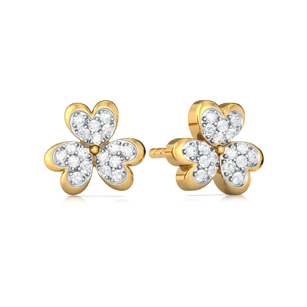 Bloom Zoom Diamond Earrings