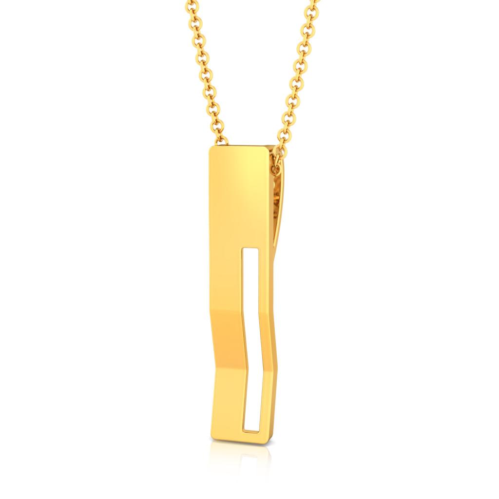 Bend & Shine Gold Pendants
