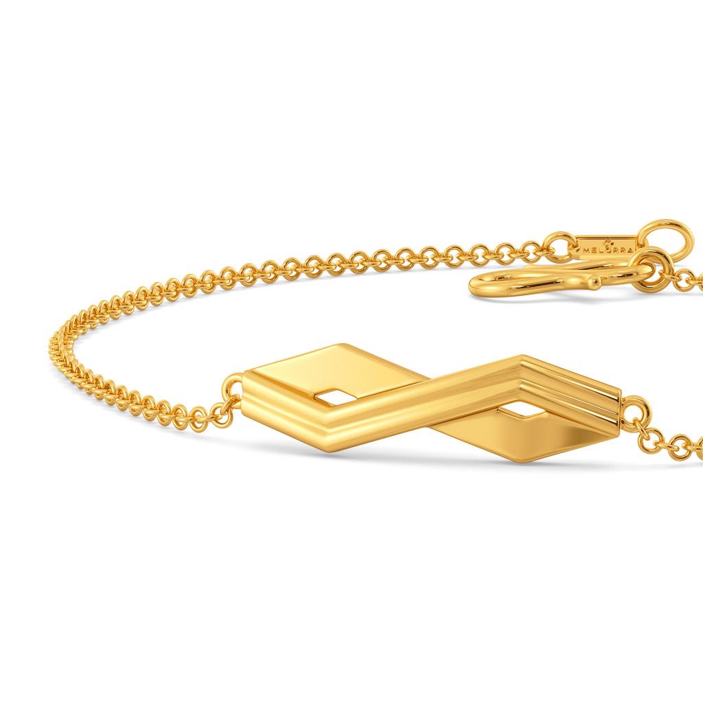 Simplistic Grace Gold Bracelets