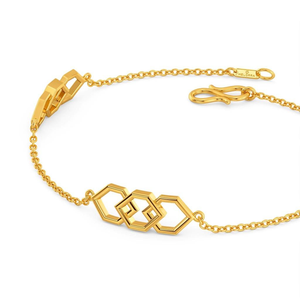 Sixth Sense Gold Bracelets