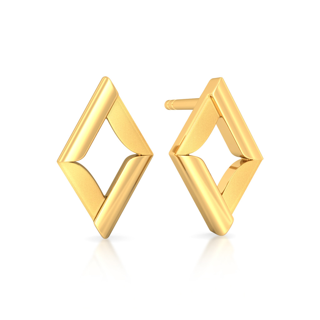 Vector Phenomenal Gold Earrings