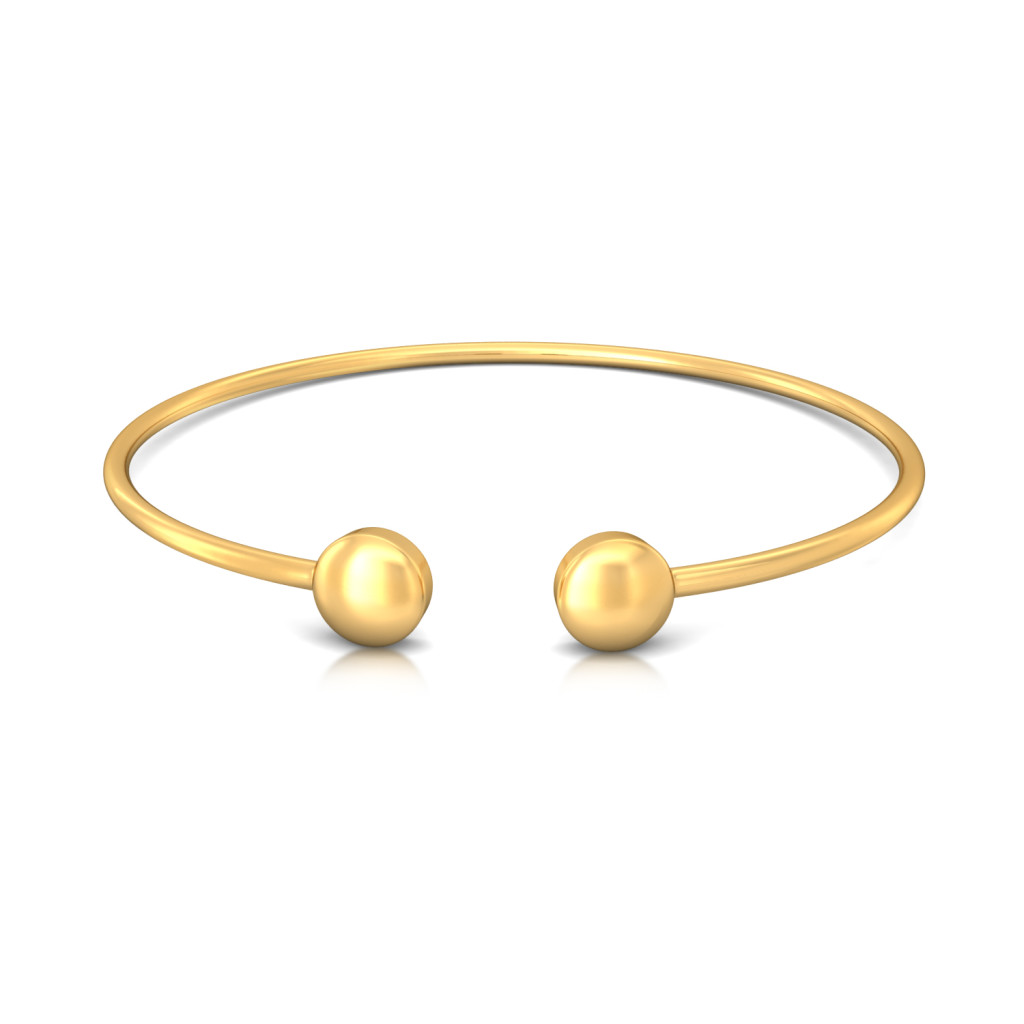 Bobble Up Gold Bangles