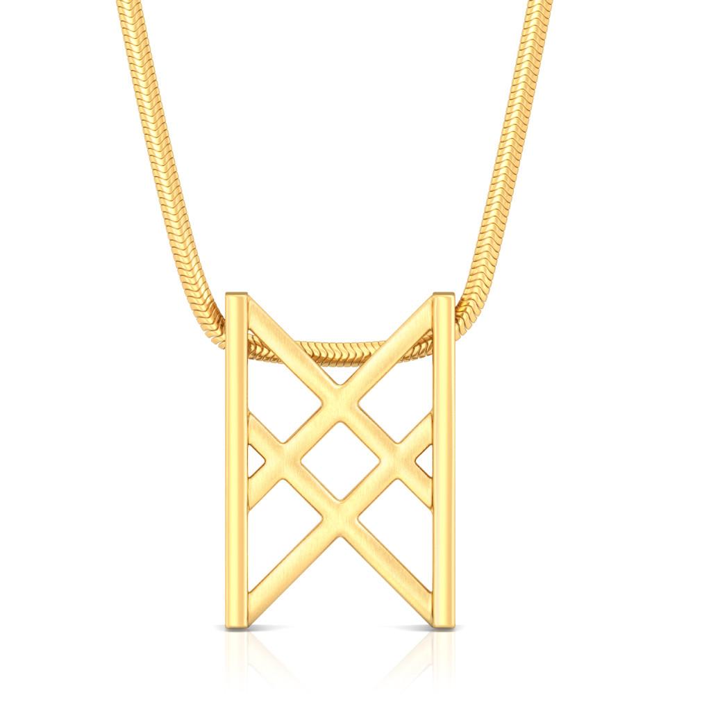 Triple X Gold Pendants