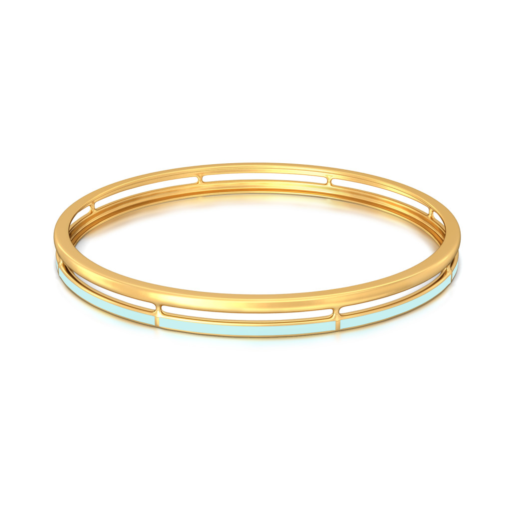 Dual Hue Gold Bangles
