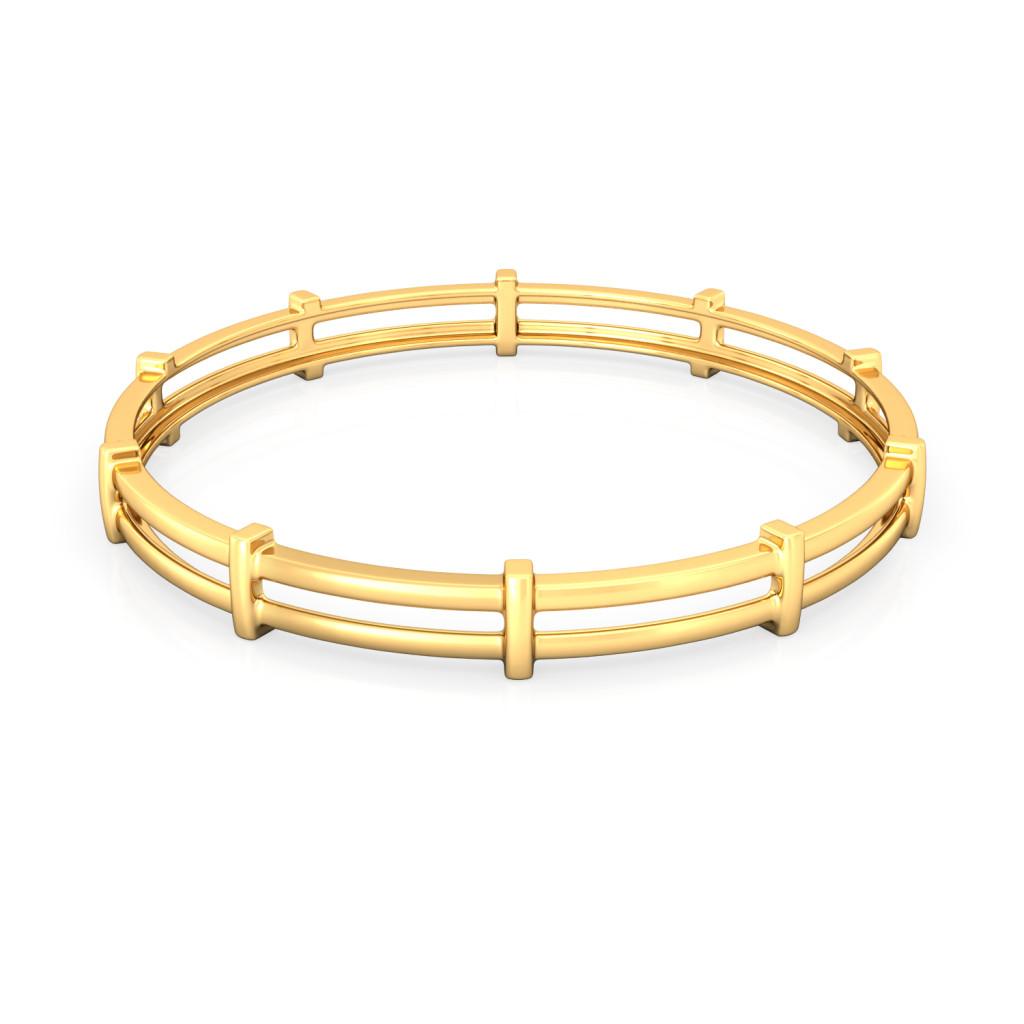 Twin-ergy Gold Bangles