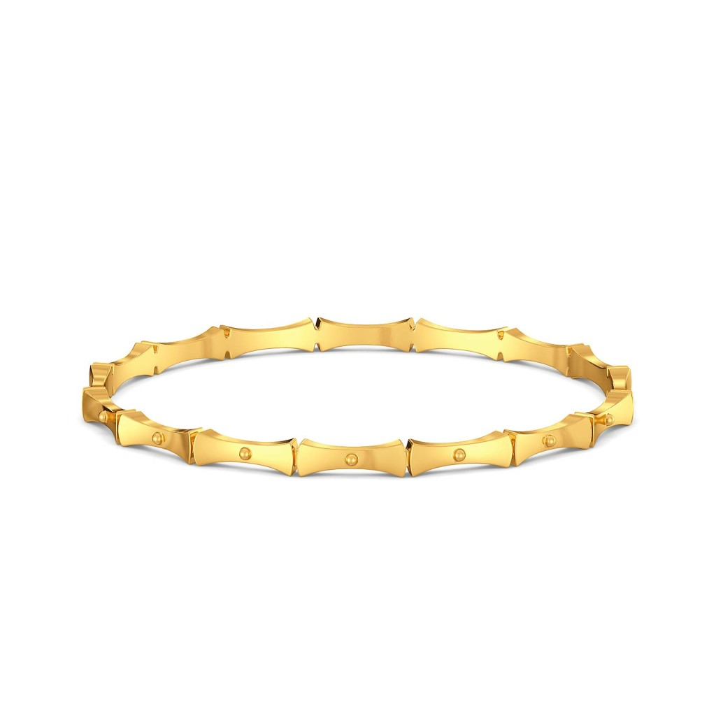 Belts N Buckles Gold Bangles