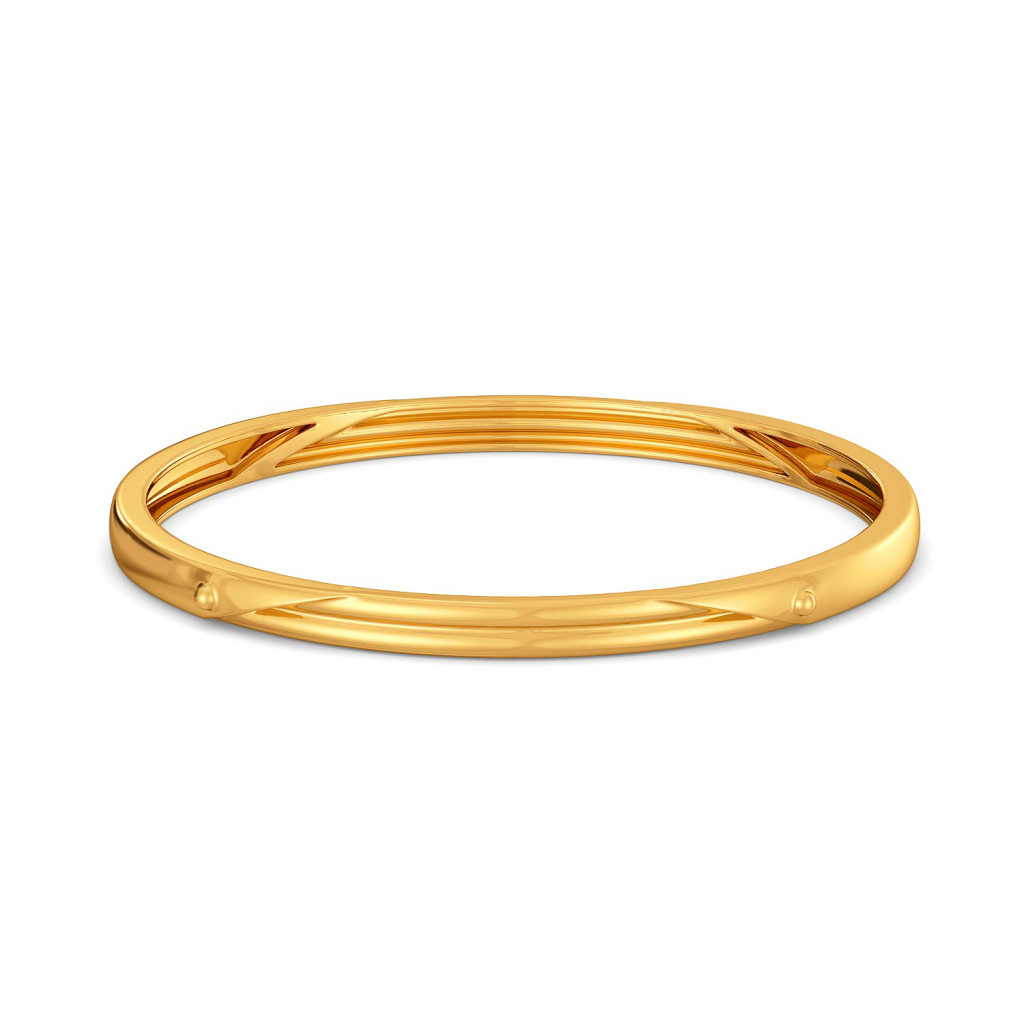 Safari Sleek Gold Bangles