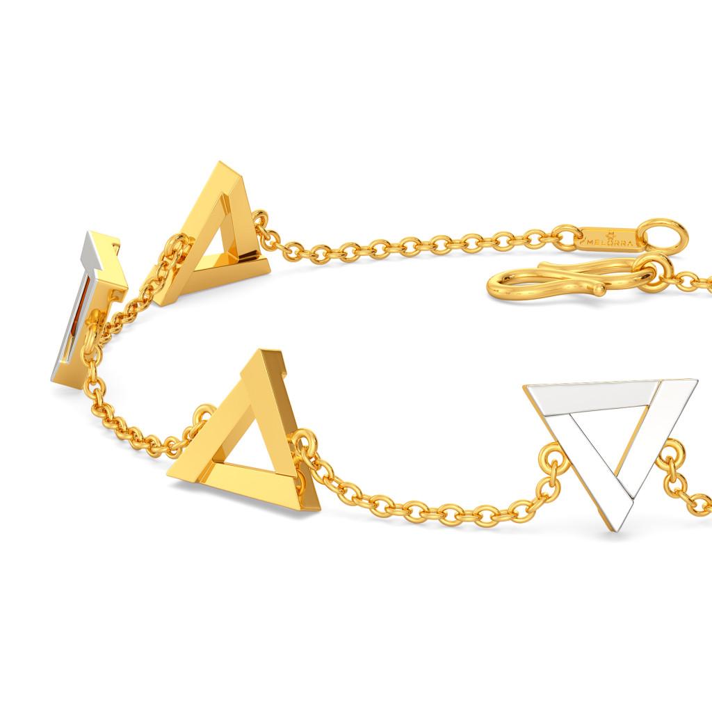 Fierce Figments Gold Bracelets
