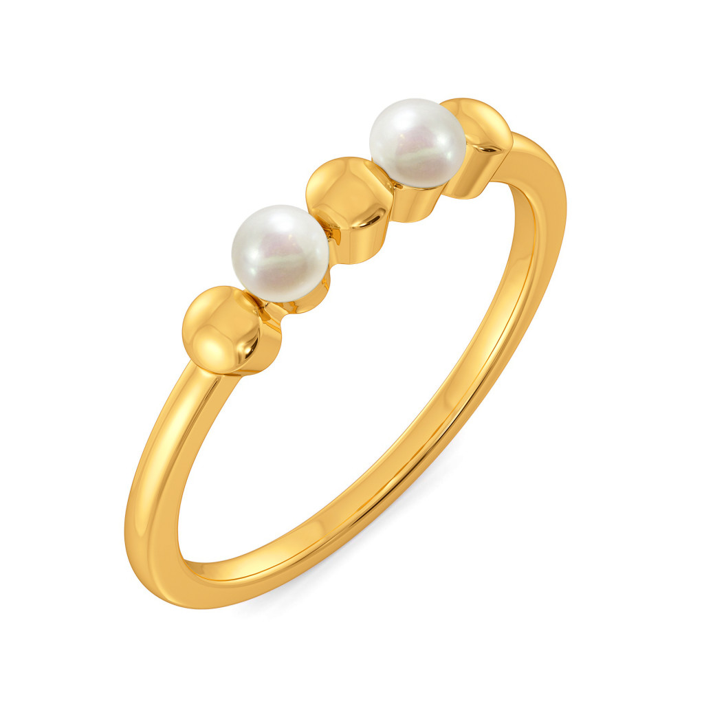 Two to Polka Gemstone Rings