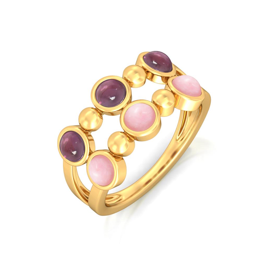 Romantique Gemstone Rings