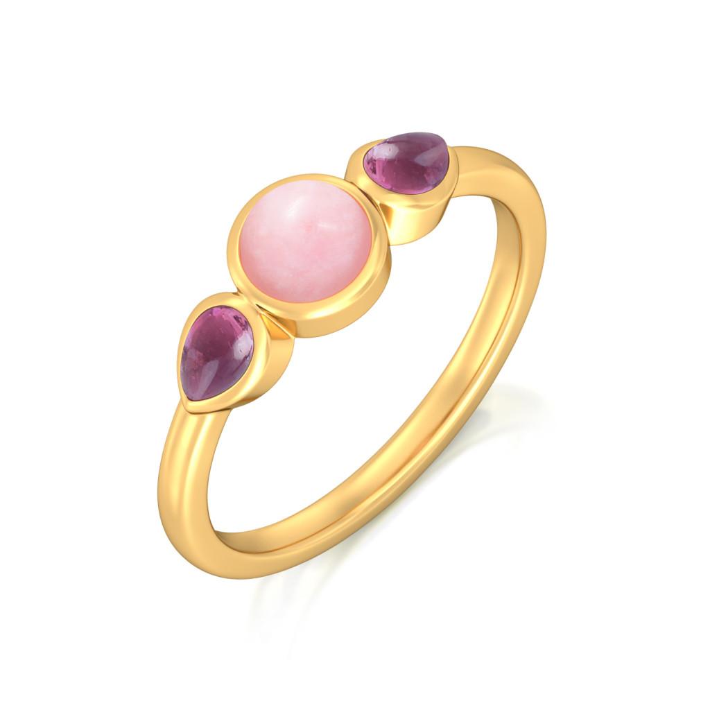 Sangria Summer Gemstone Rings