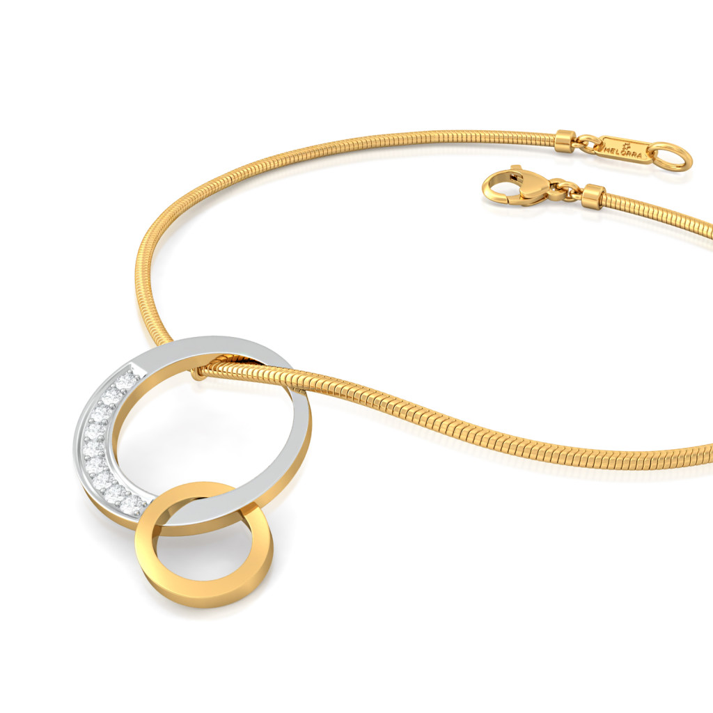 Swing-Ring Diamond Bracelets
