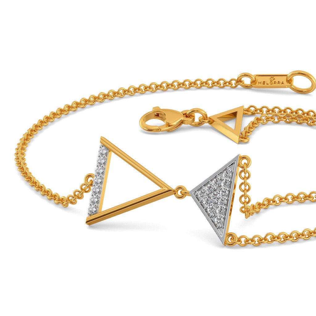 The Power Pose Diamond Bracelets