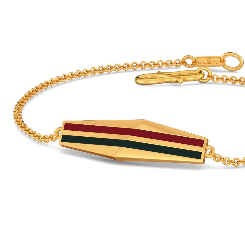 Dual Scholars Gold Bracelets