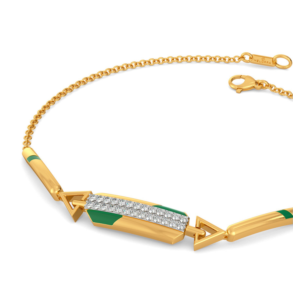 Green Parades Diamond Bracelets
