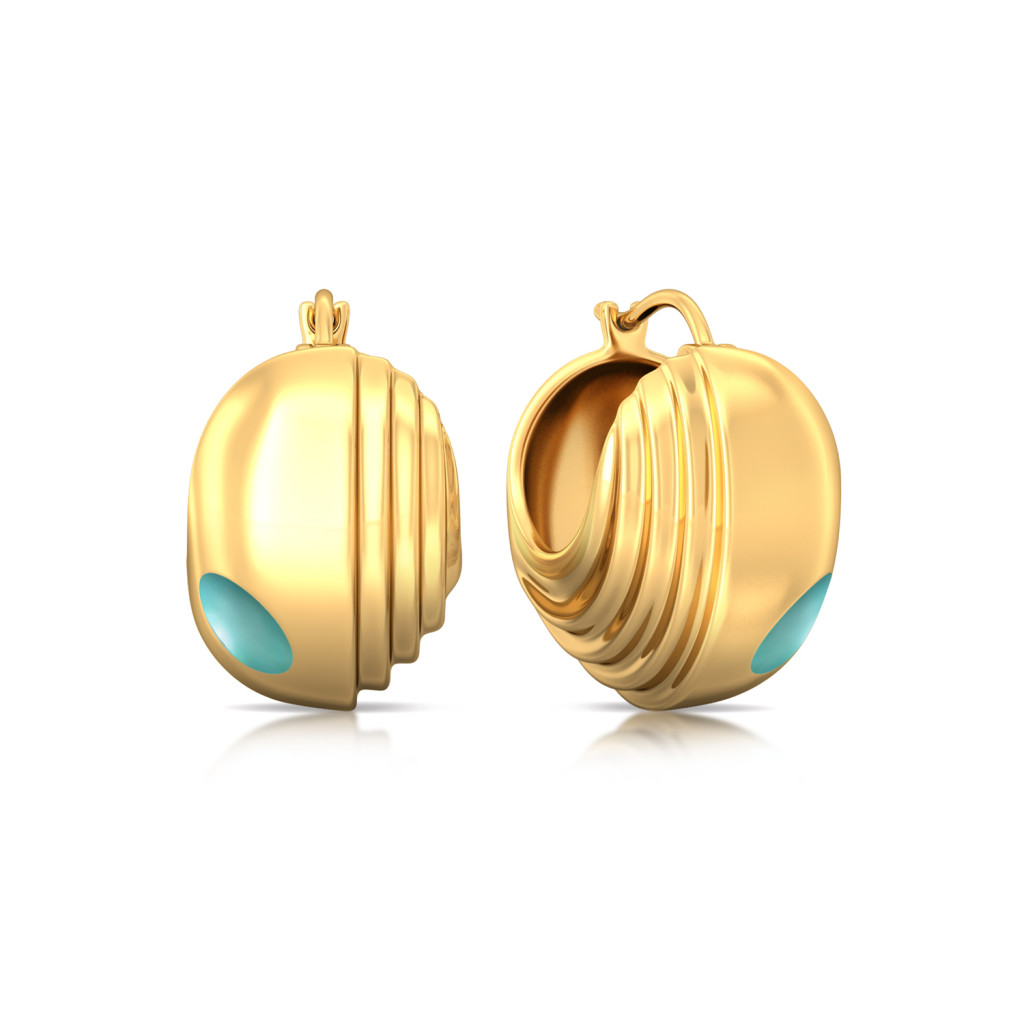 Skylight Gold Earrings
