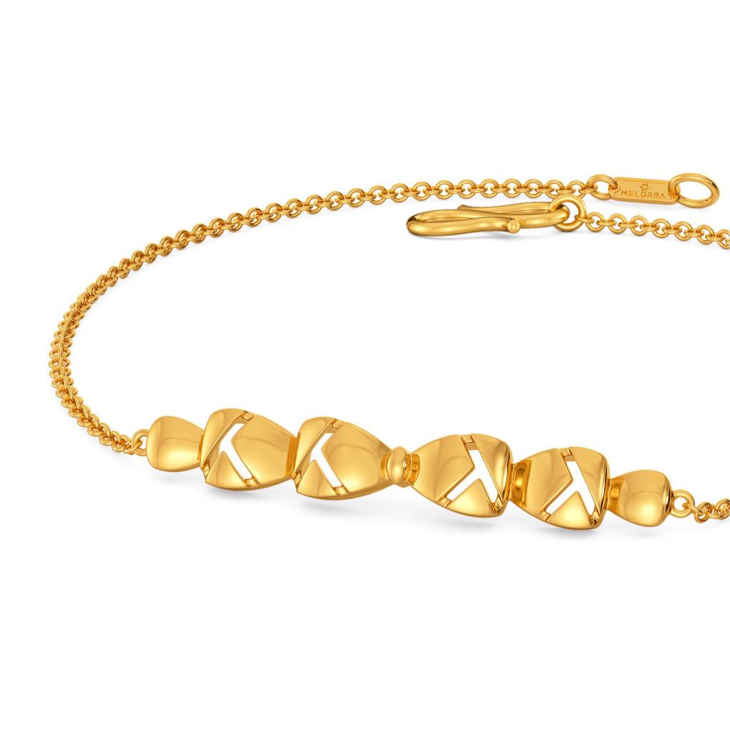 Raging Bows Gold Bracelets