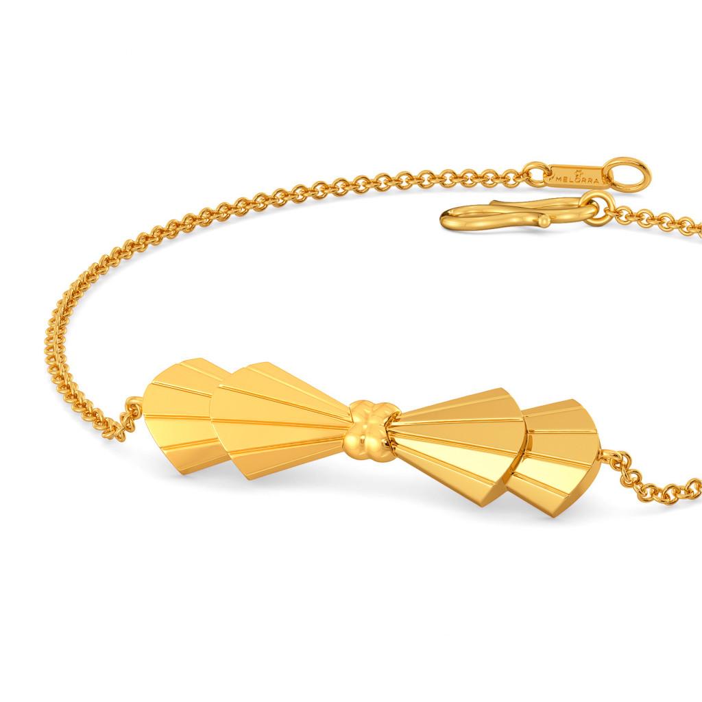 Bow N Bolder Gold Bracelets