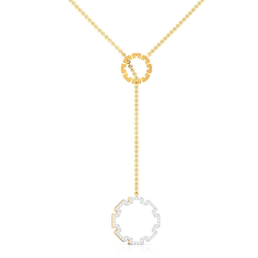 Gold Glam Diamond Necklaces