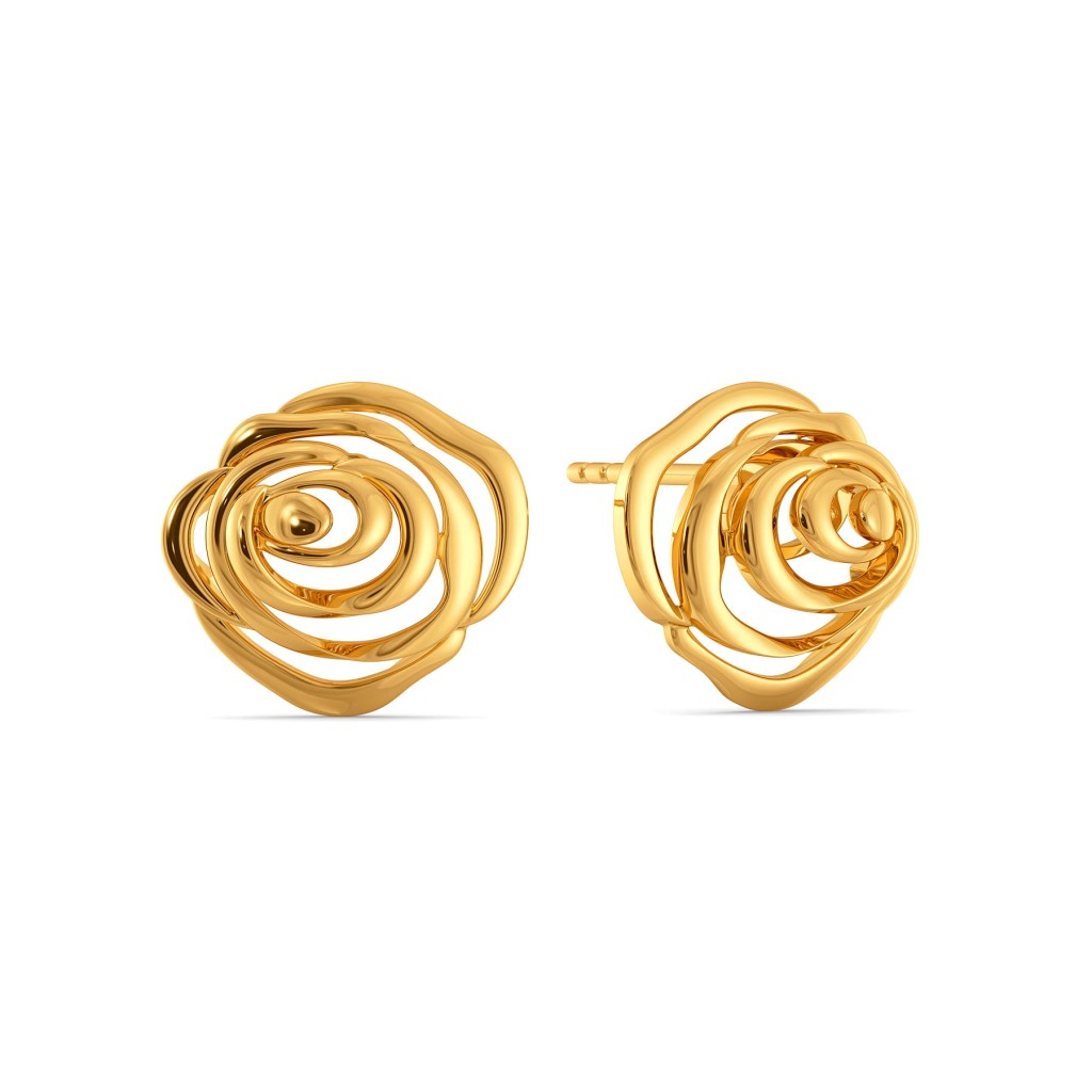 Love Untamed Gold Earrings