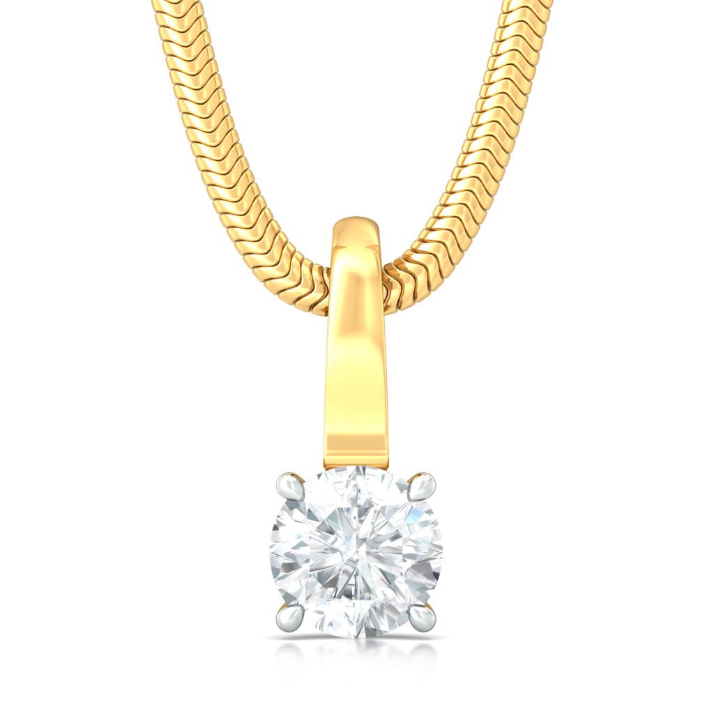 Rock n Roses Diamond Pendants