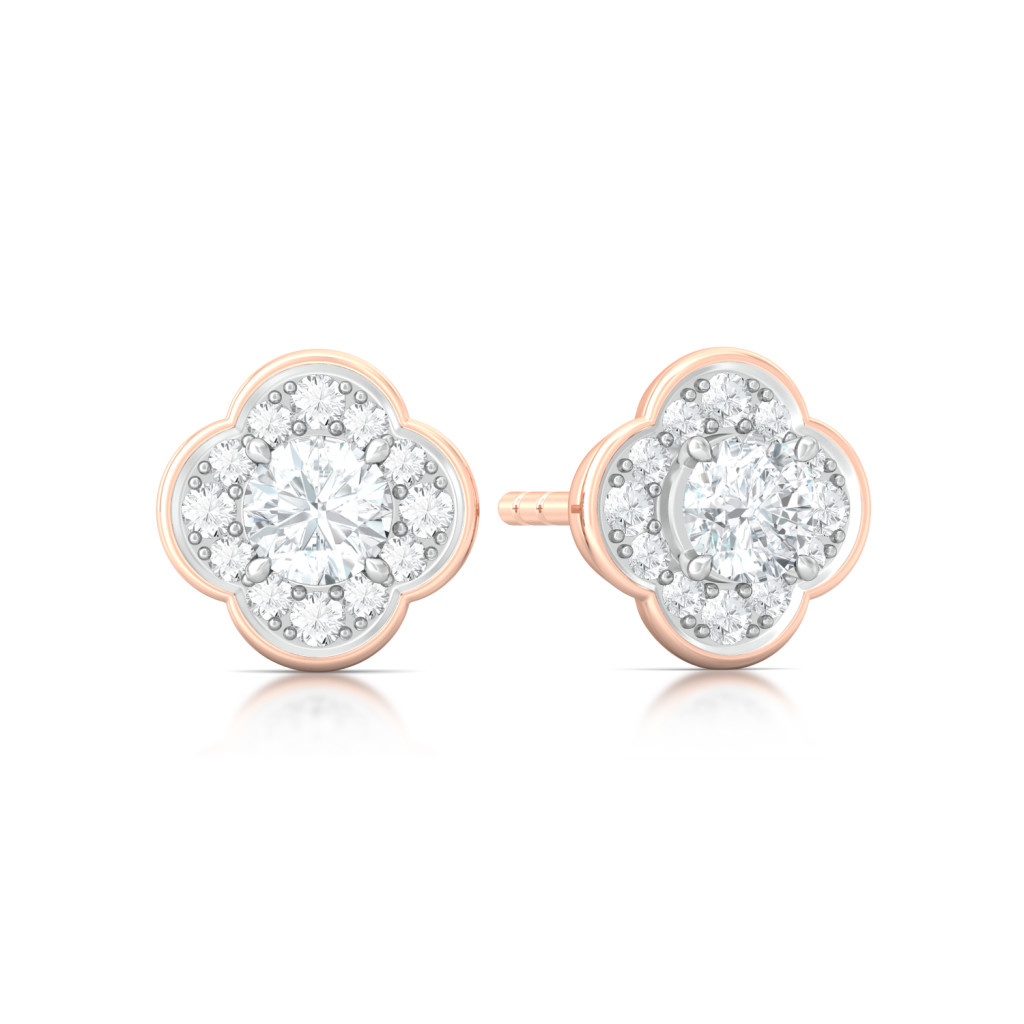 Eternity Blossoms Diamond Earrings