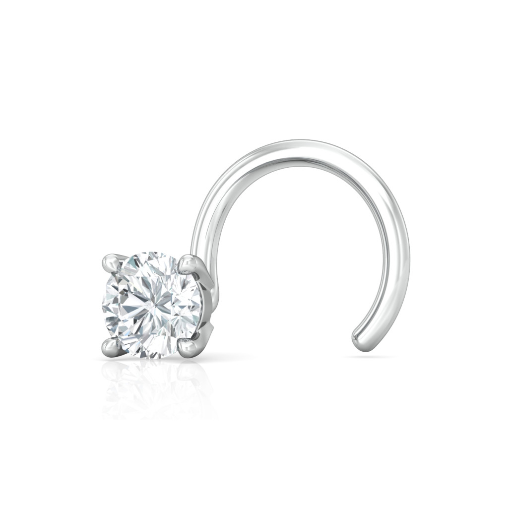 Solitaire Extraordinaire Diamond Nose Pins