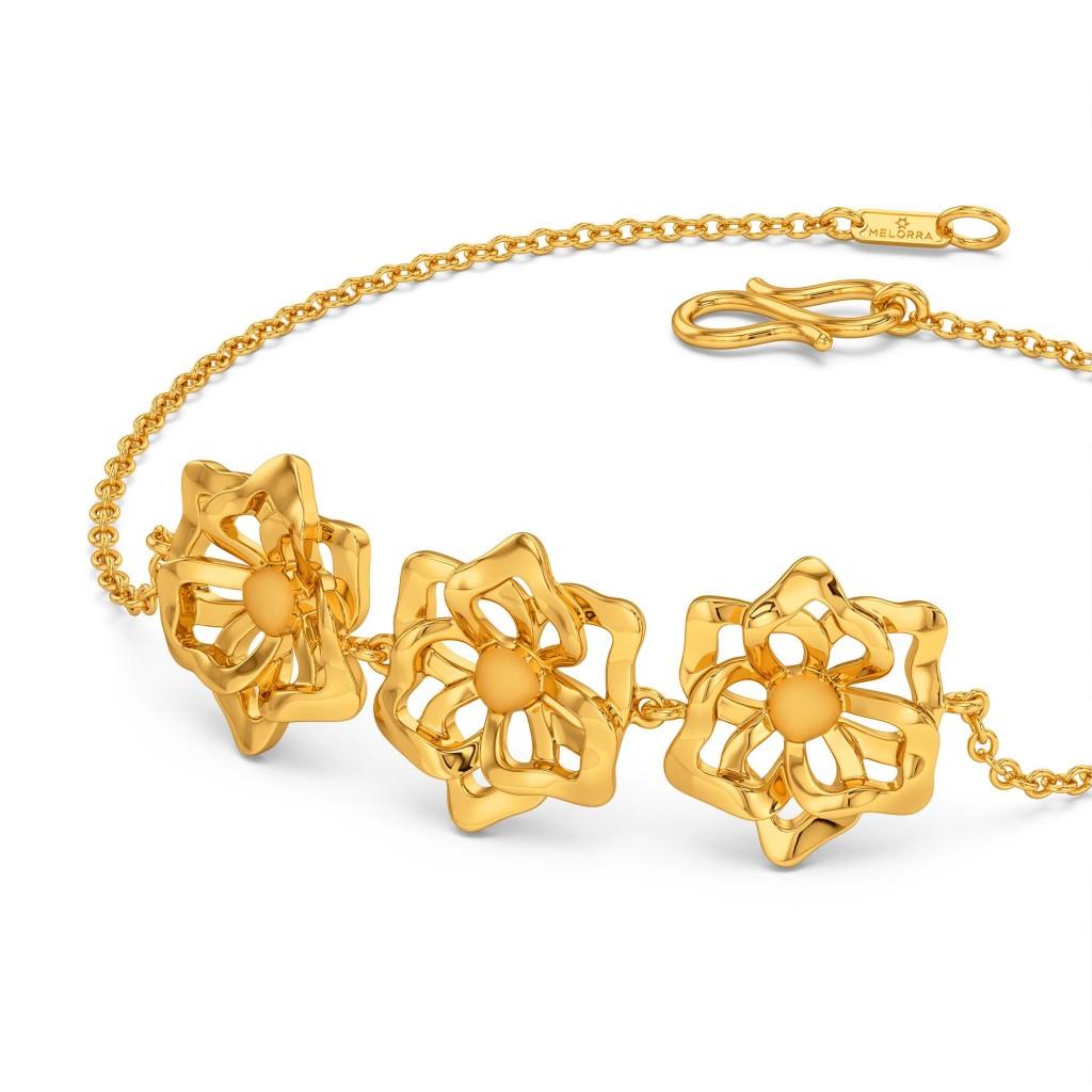 Sunny Side Up Gold Bracelets