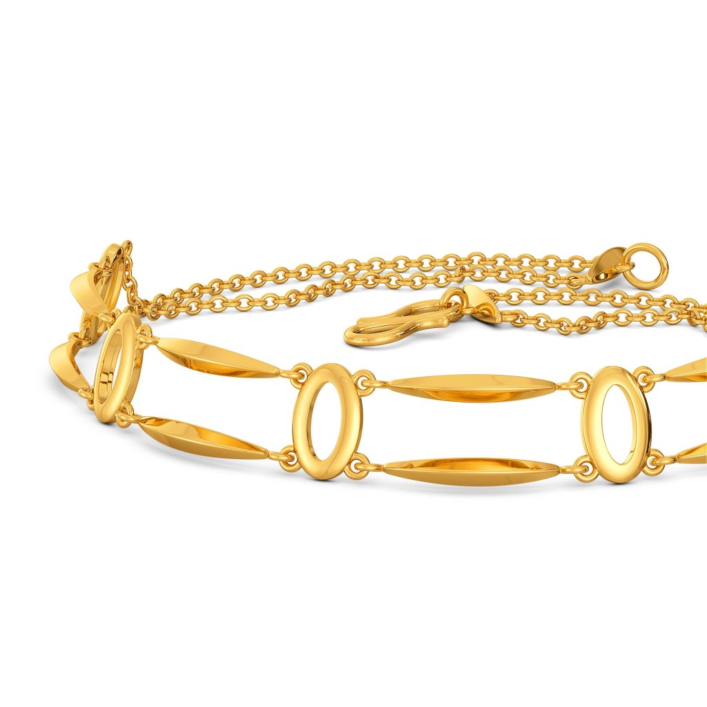 Binge on Fringe Gold Bracelets