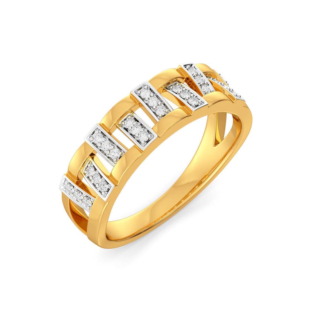 Taffeta Trail Diamond Rings