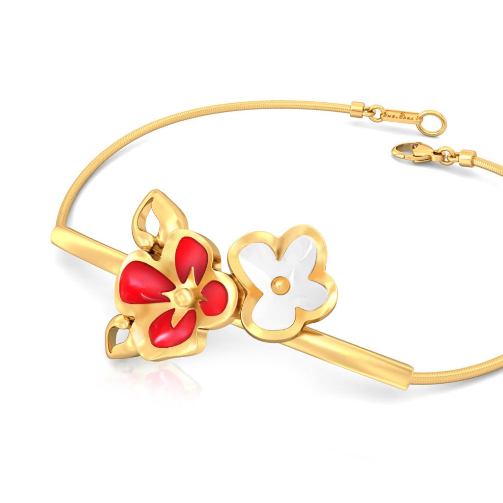 Retro Rose Gold Bracelets
