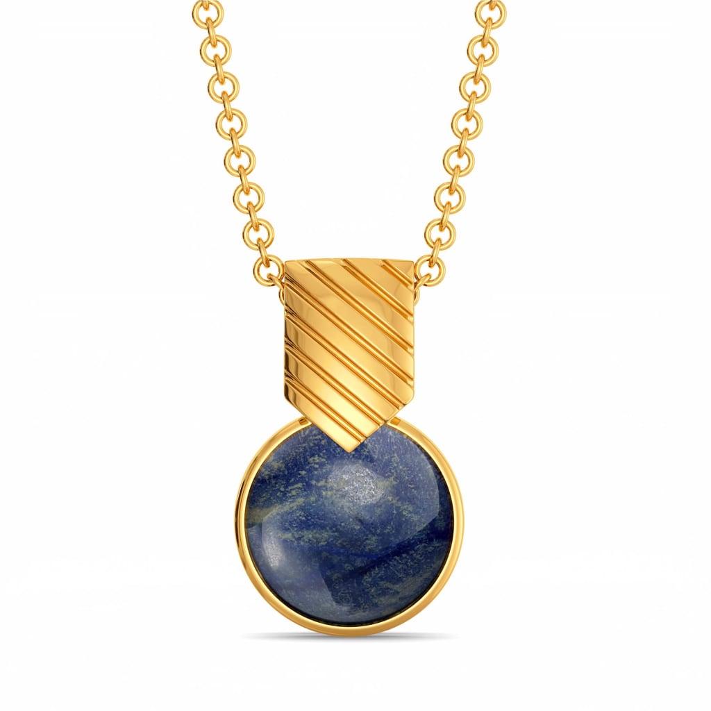Rule of Blue Gemstone Pendants