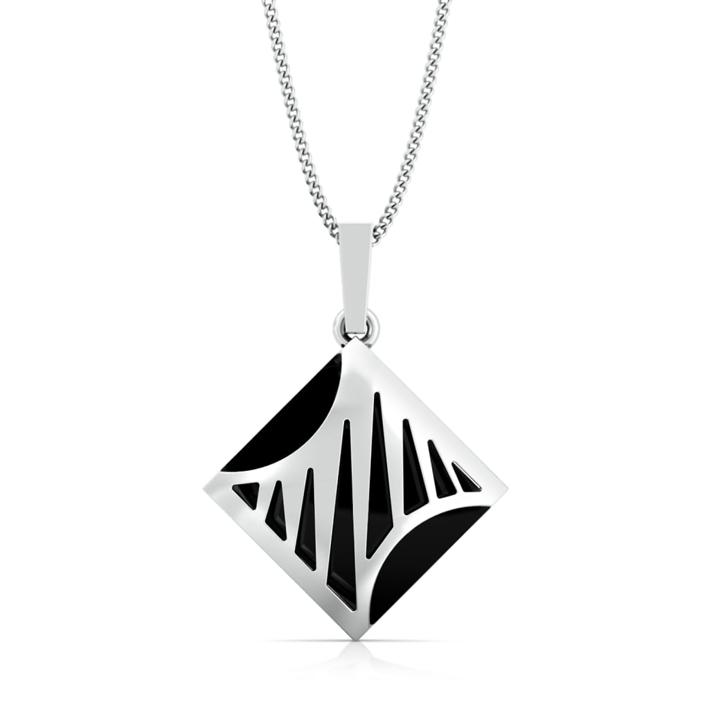 Zebra Crossing Gemstone Pendants