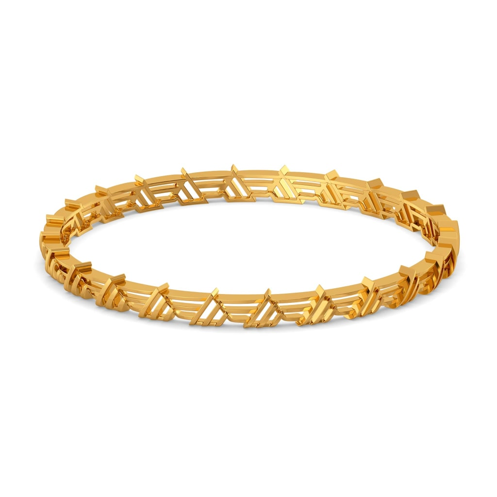 Reveal N Conceal Gold Bangles