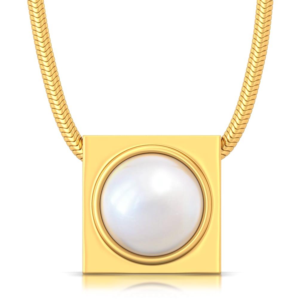 Boxy Beauty Gemstone Pendants