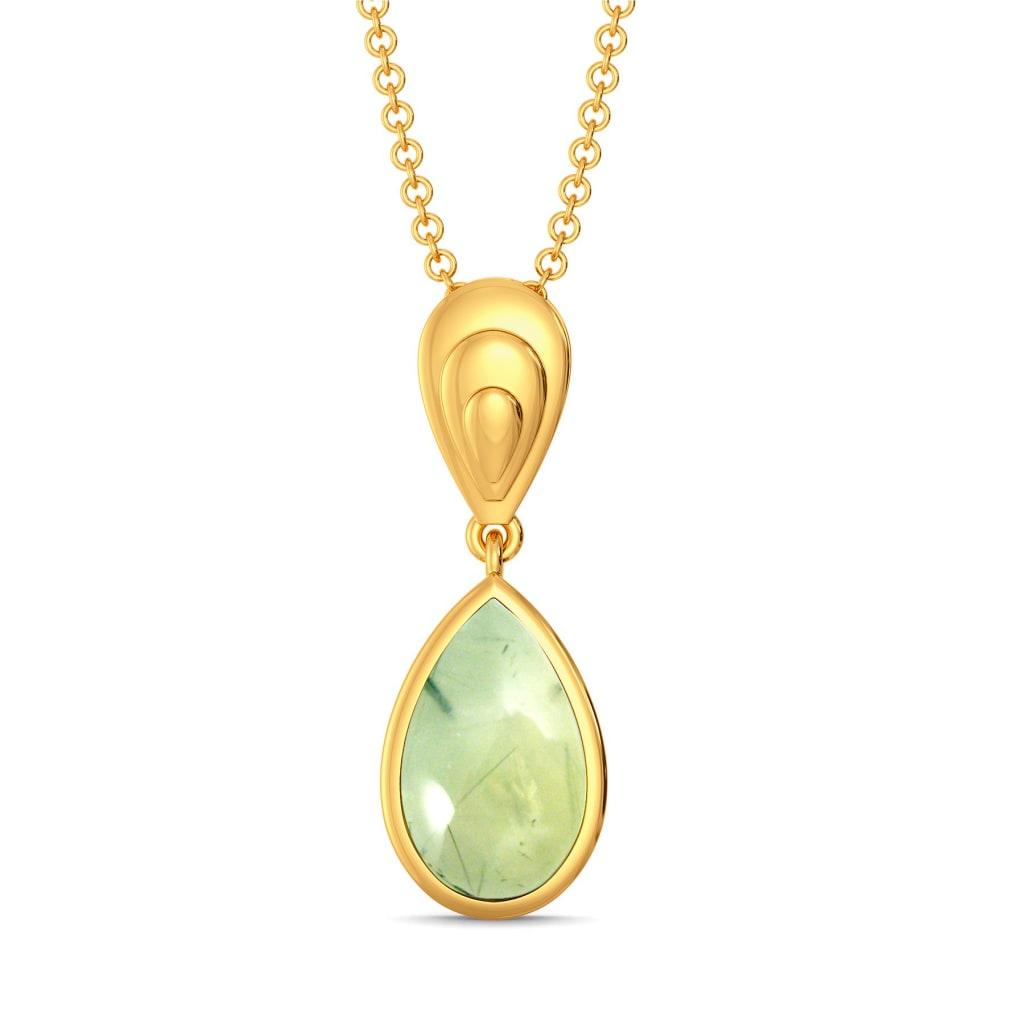 Green Is In Gemstone Pendants