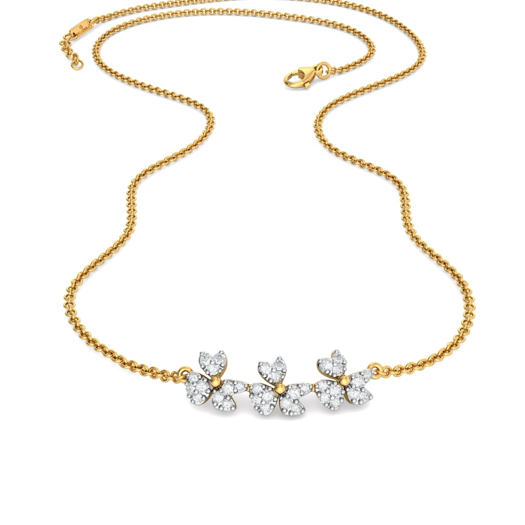 Lily Dilly Diamond Necklaces