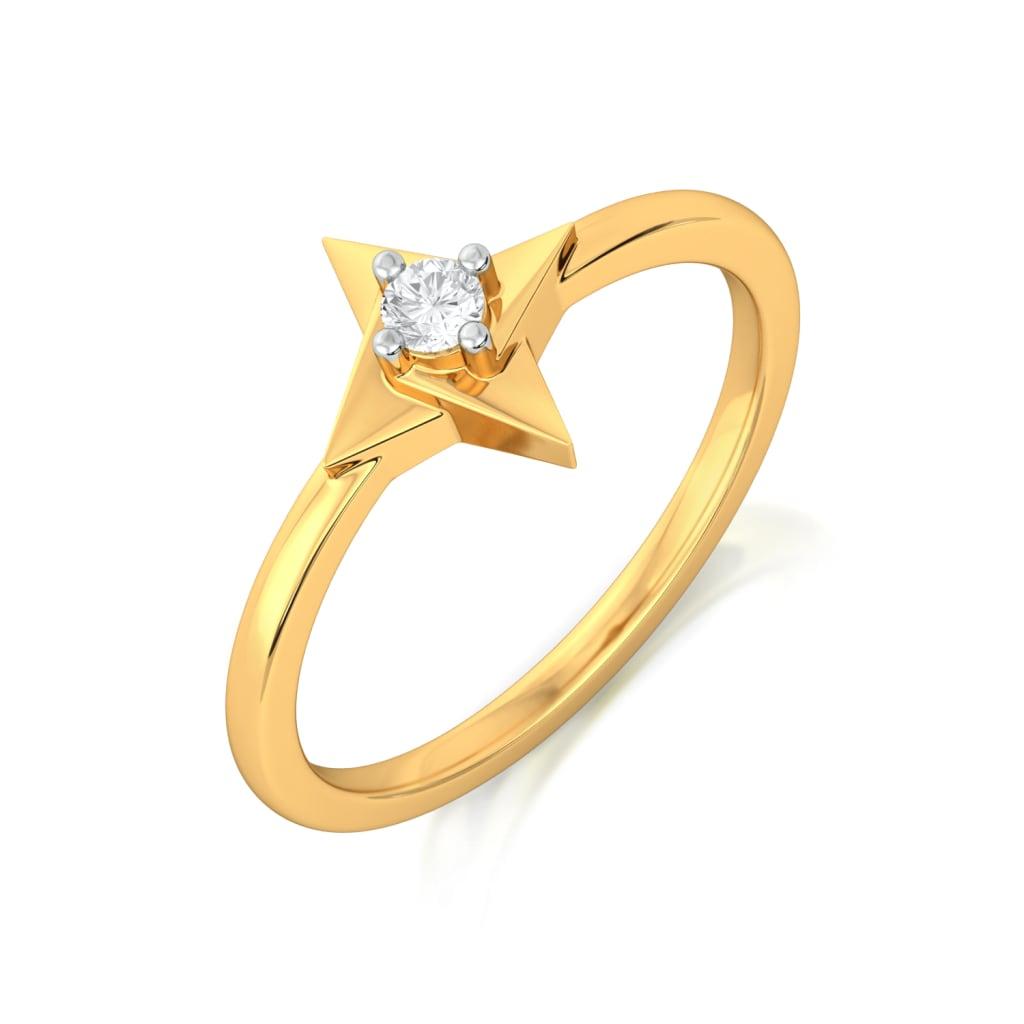 Fidget Digit  Diamond Rings
