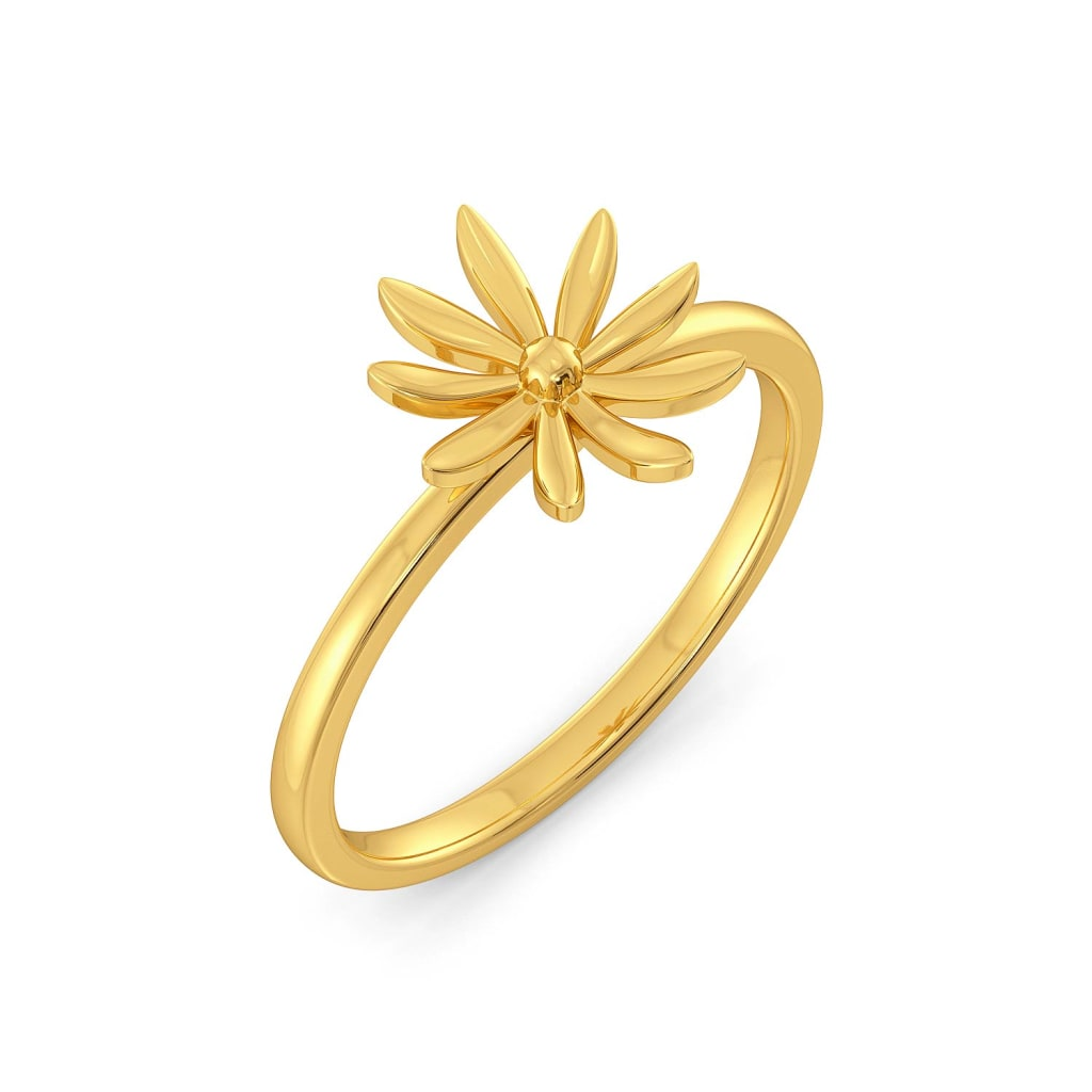 Casa De Posy Gold Rings