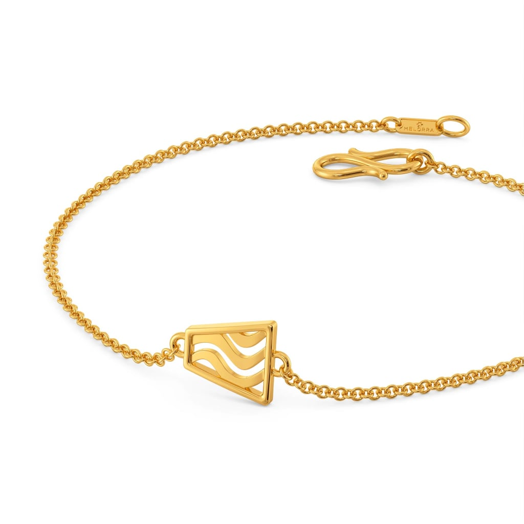 Trapeze Gold Bracelets