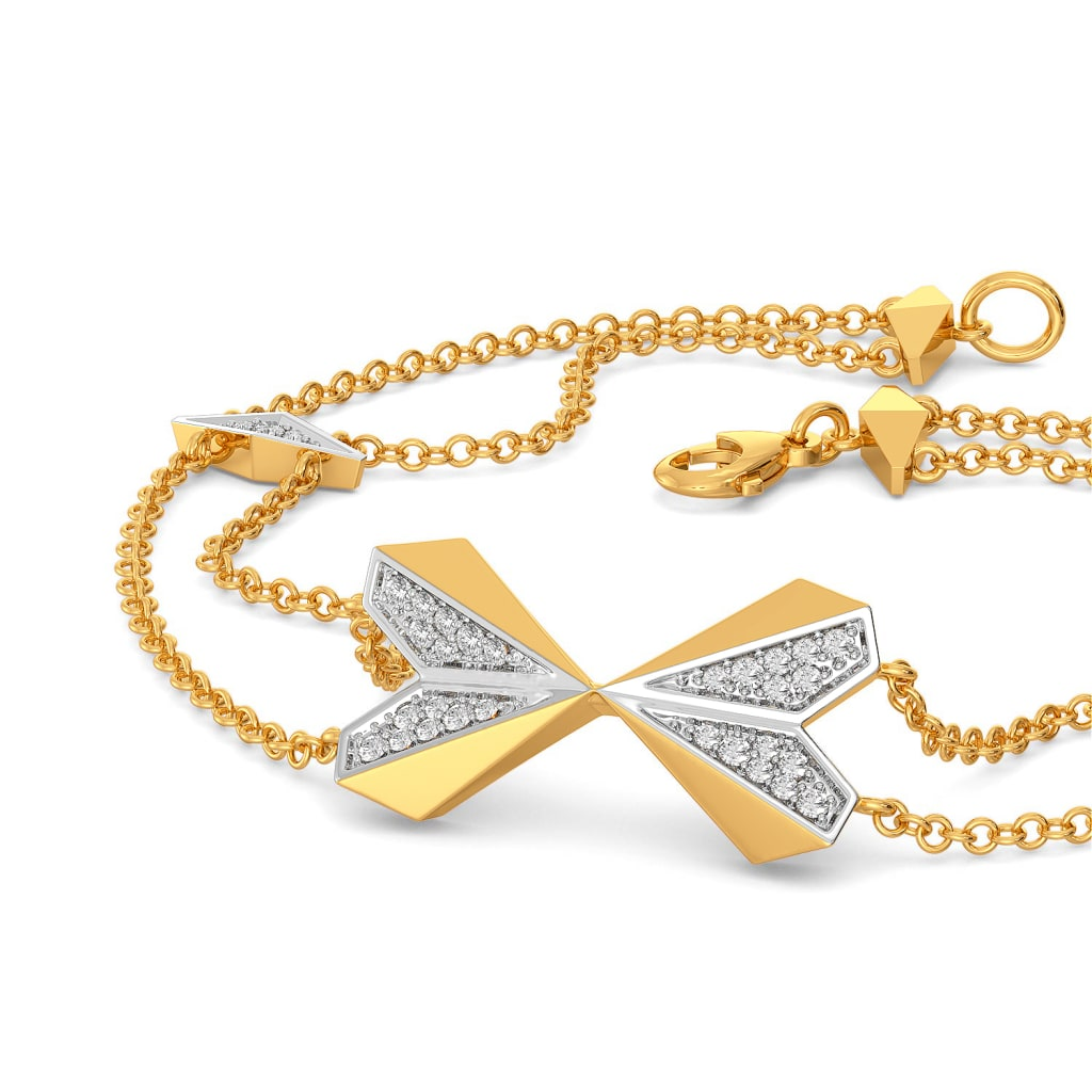 Heart Mache Diamond Bracelets