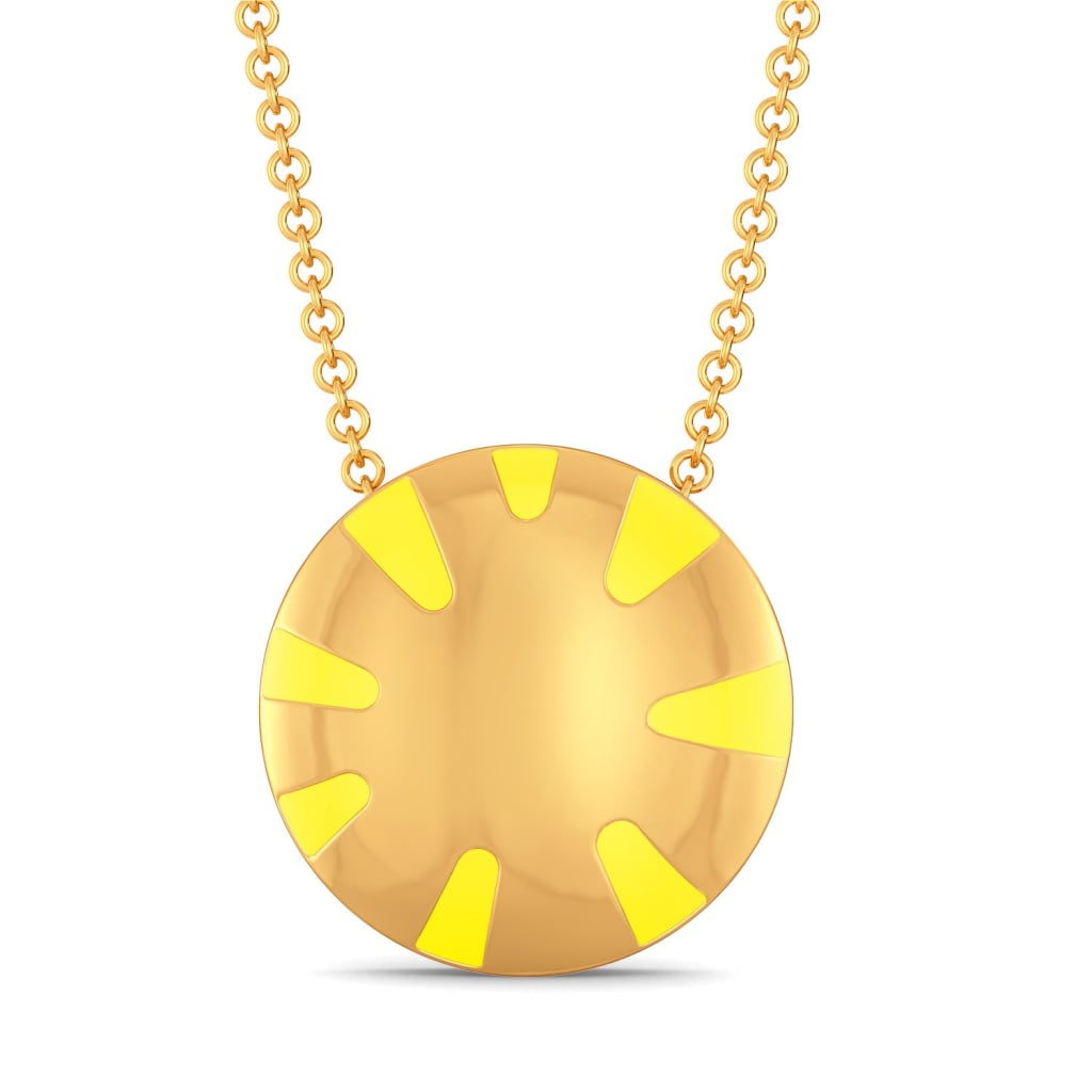Citrus Cue Gold Pendants