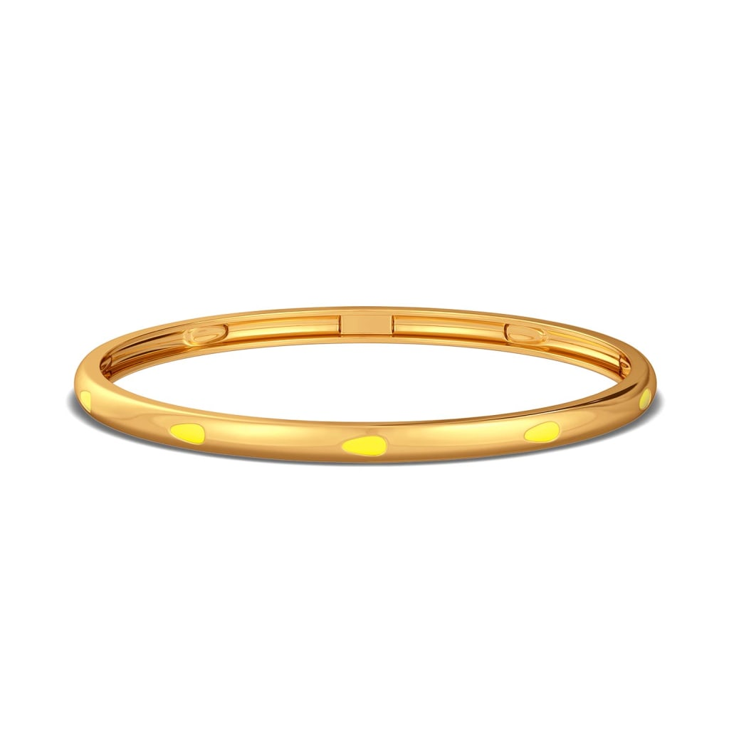Fusion Fruit Gold Bangles