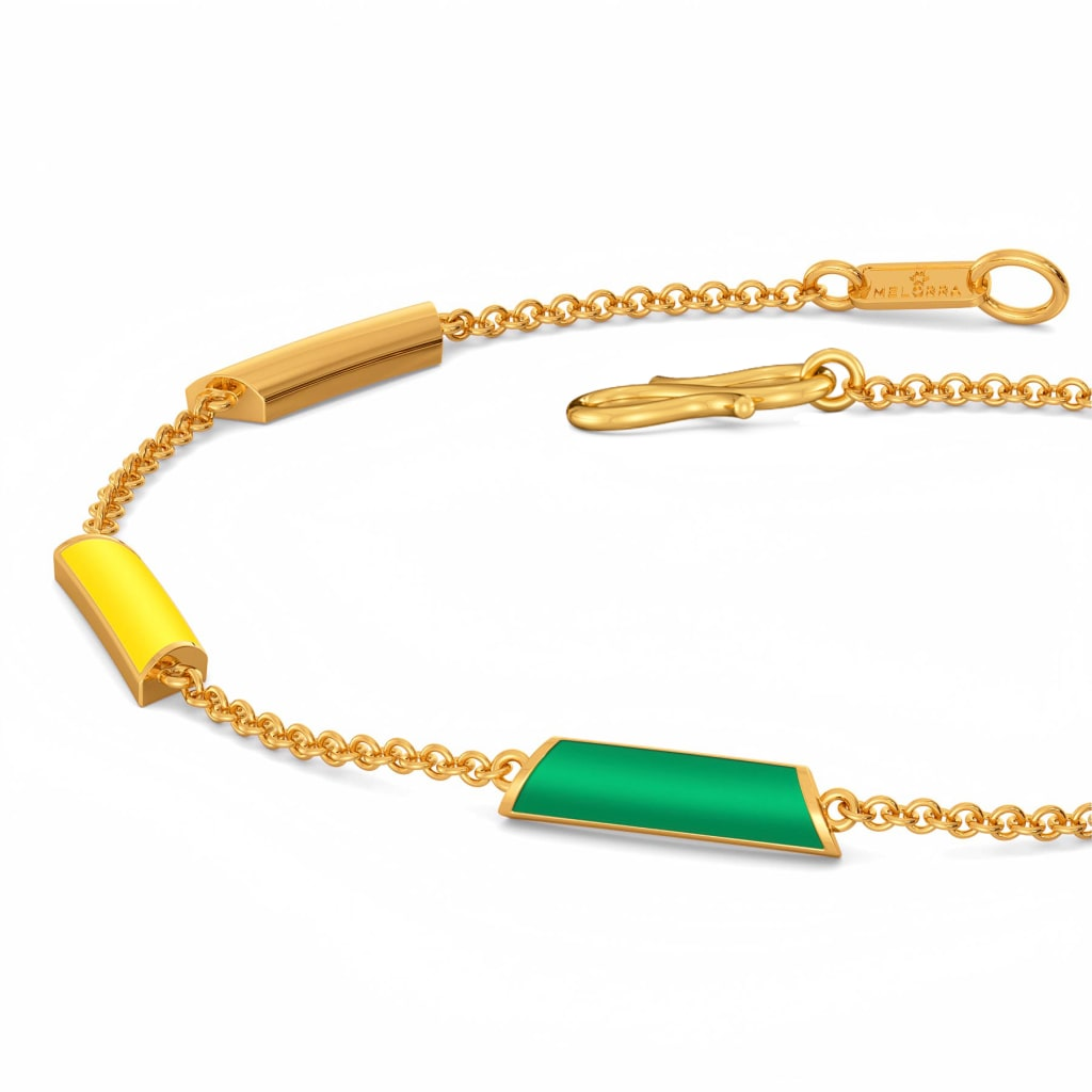 Graded in Green Gold Bracelets