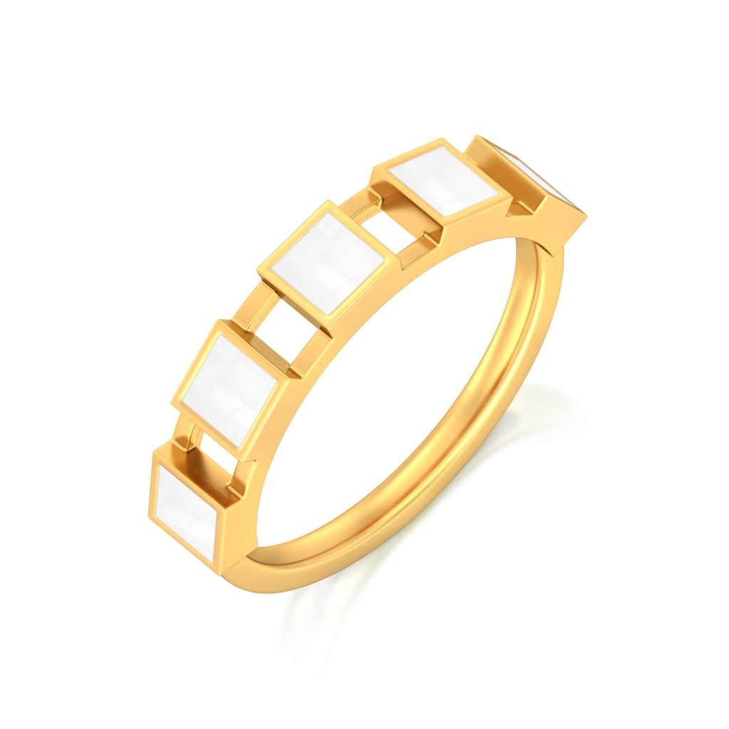 The Unbox Code Gold Rings