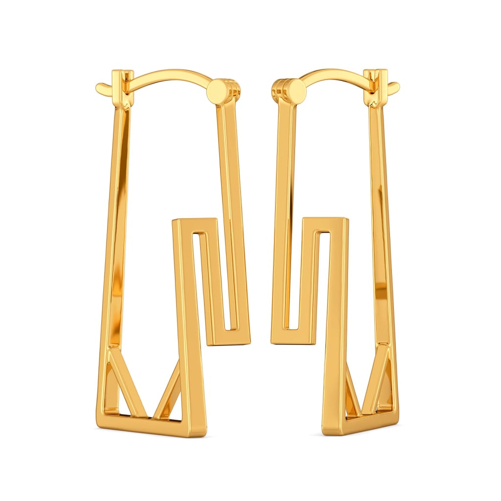 More is More Gold Earrings