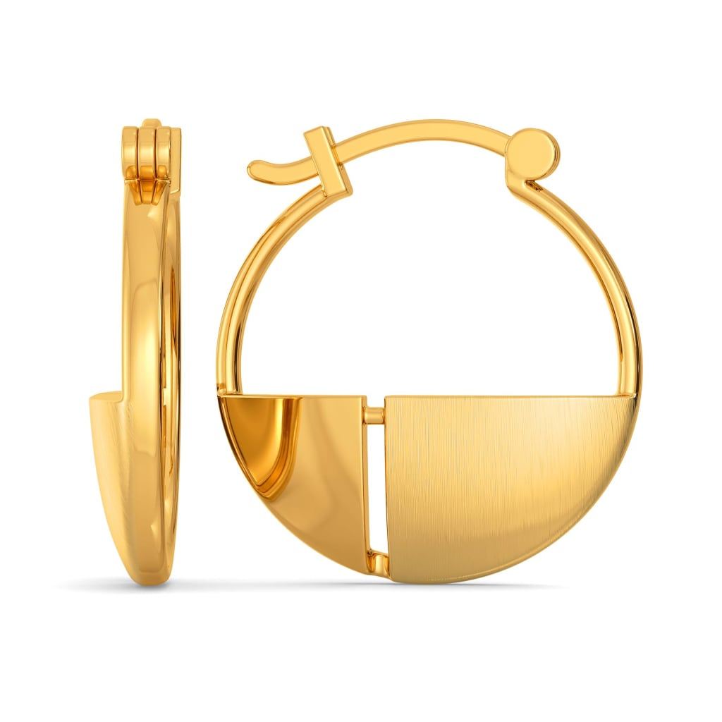 Passion for Poise Gold Earrings