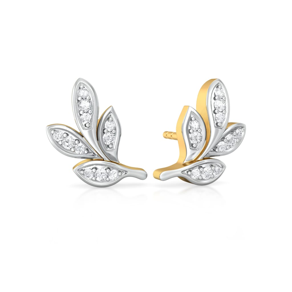 Flora Aura Diamond Earrings